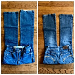 3/$20 Justice Simply Low Girls Jeans-size 10 slim